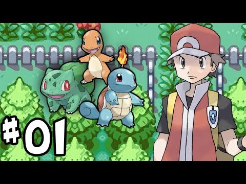 Pokémon LeafGreen - Part 1 - Tommy Oak?