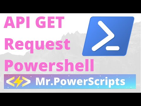 Perform GET Requests to RESTful API with Powershell !