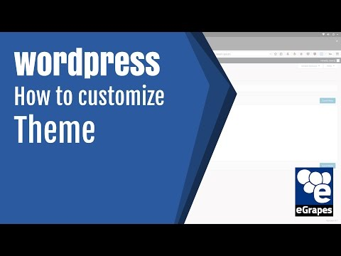 How to customize or edit wordpress theme, design or template