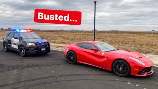 BUSTED IN ABANDONED GHOST TOWN!!!