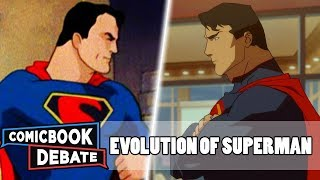Evolution of Superman in Cartoons in 33 Minutes (2018)