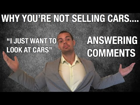 Car Sales Training How To Handle Objections (Anyone)