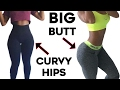 ❤️How To Get Curvy Hips and Bigger Butt🍑  4 Workouts For Wider Hips and Big Booty!