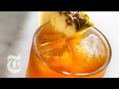 Rum and Pineapple Juice Recipe | Summer Drinks | The New York Times