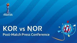 KOR v. NOR - Post-Match Press Conference