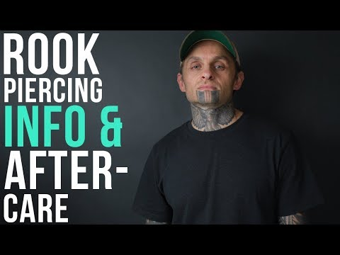 Rook Piercing Info & Aftercare | UrbanBodyJewelry.com