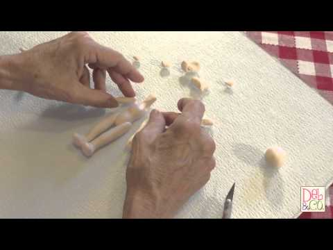 Polymer Clay Tutorial - How to Make a Body
