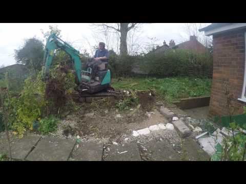 Mini/Micro digger ripping