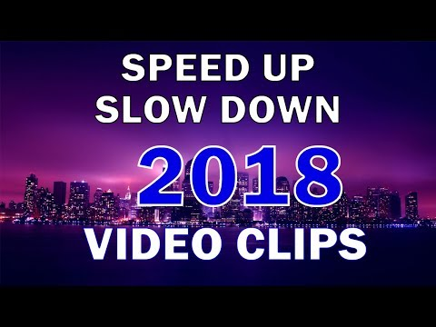 How To Speed Up & Slow Down Video Clips After Effects (WITHOUT PLUGINS) 2018