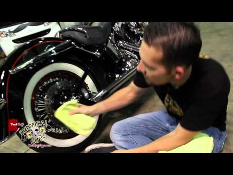 How To Clean and Restore White Wall Tires using Chemical Guys NONSENSE