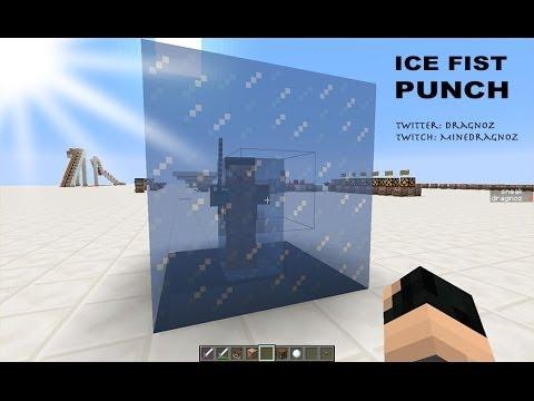 Ice Fist Punch in Minecraft 1.8