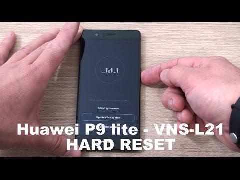 Huawei P9 Lite VNS L21 hard reset