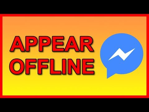 How to appear Offline on Facebook Messenger (Android)