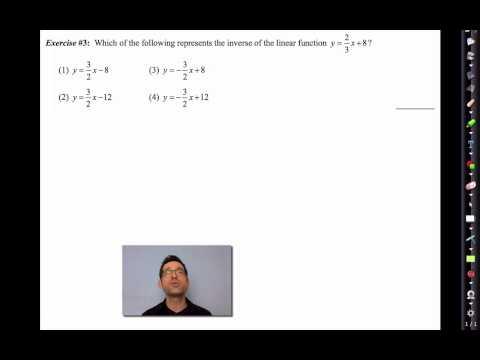 Common Core Algebra II.Unit 3.Lesson 5.Inverses of Linear Functions