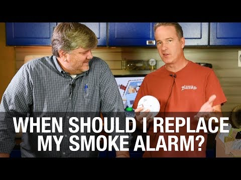 How often should you replace your smoke alarms?