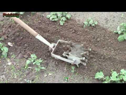 Самодельный ручной культиватор/Homemade Hand cultivator