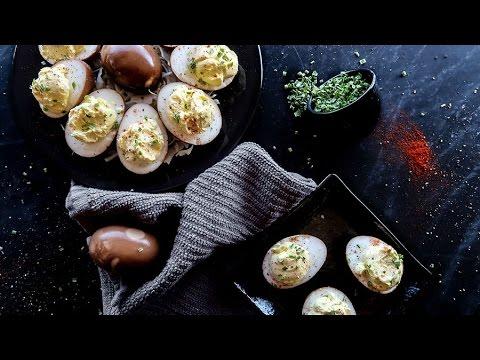 Keto Recipe - Marinated Deviled Eggs