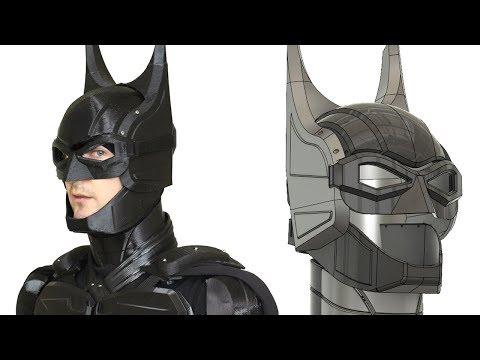 3D Printed Batman Cosplay Suit #6 with Ninjaflex | XRobots