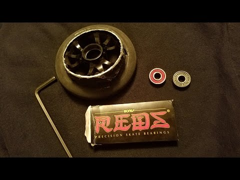 How to Remove and Install Scooter Bearings Tutorial!