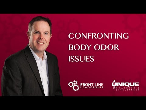 Confronting Body Odor Issues
