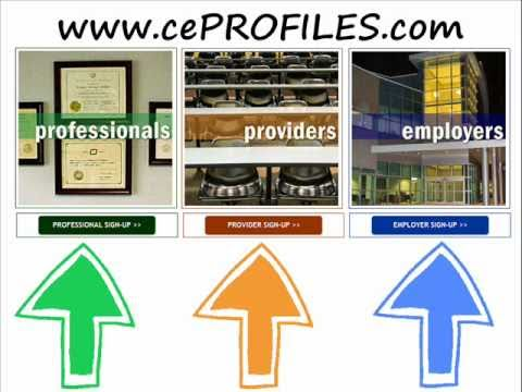 cePROFILES - Easily Track All Continuing Education