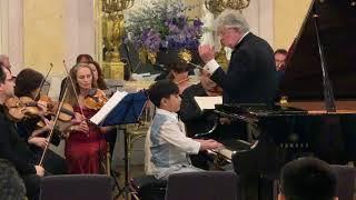 Vienna Concert (Evan is 8 years 2 months)