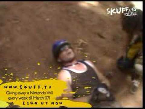 Skuff TV | Mountain Bike Crash