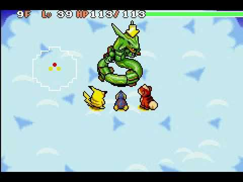 Pokemon Mystery Dungeon Red Rescue Team - Rayquaza