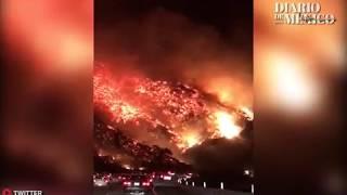 California arde en llamas