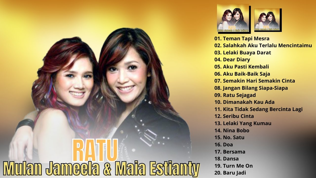 Download LAGU TERBAIK MAIA ESTIANTY & MULAN JAMEELA (R.A.T.U) - LAGU POP INDONESIA TAHUN 2000AN TERPOPULER MP3 Gratis