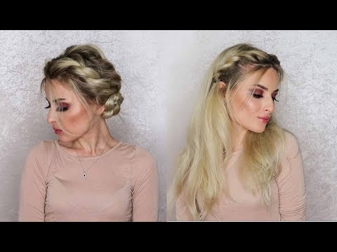 2 easy and cute spring inspired hairstyles!