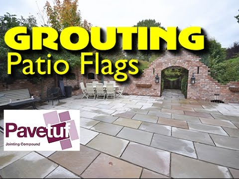 JOINTING COMPOUND HOW TO GROUT A PATIO WITH PAVETUF