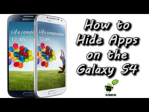 How to Hide Apps on the Samsung Galaxy S4