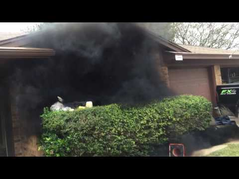 6.0 Powerstroke catches house on fire with smoke switch :(