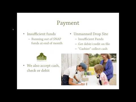 Accepting SNAP/EBT Payments for Your CSA