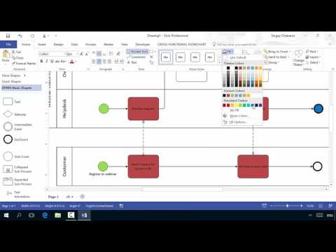 Visio 2016 for Process Management
