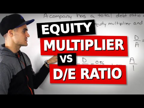 FIN 300 - Equity Multiplier and Debt to Equity Ratio - Ryerson University