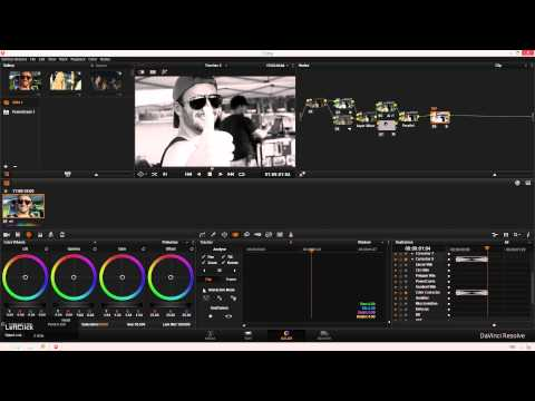 How to keyframe in Davinci Resolve