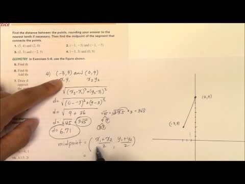 IH 008 Midpoint Formula HW #4