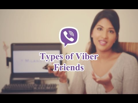 Types of Viber Friends - In Sinhala
