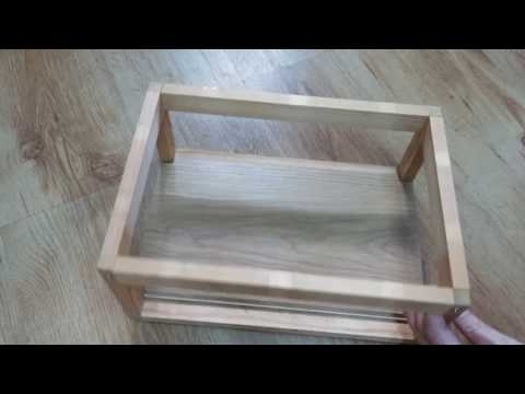 Wooden box frame disassembly