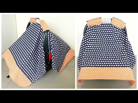 {Step-by-Step Sewing} Baby Capsule Cover