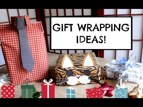 DIY GIFT WRAPPING IDEAS❤ EASY, CUTE & CREATIVE!