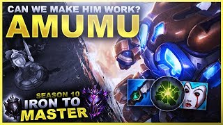 CAN I MAKE AMUMU WORK? - Iron to Master S10 | League of Legends