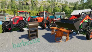 Heavy Equipment on the Farm - Demolition and Construction of New Home | Admire Tractors from Terrace