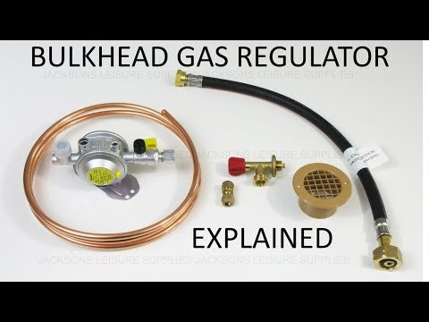 The difference between an LPG gas regulator and a bulkhead gas regulator explained