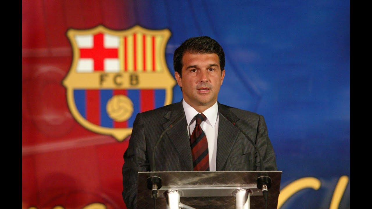 The story of Joan Laporta ● FC Barcelona ● Bring back our name