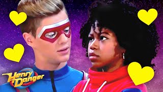 Henry Kisses Charlotte?! 😮 CHENRY Moments | Henry Danger