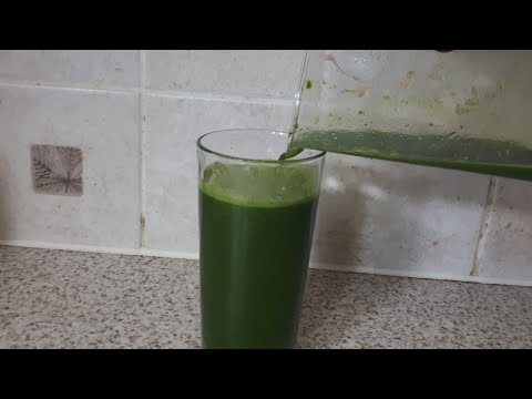 HOW TO GROW EDGES ON NATURAL HAIR FAST AND EASY : DETOX JUICING