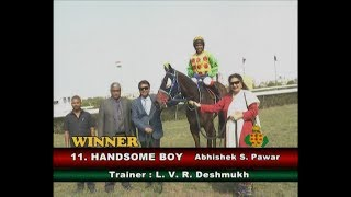 Handsome Boy with Abhishek S Pawar astride wins The Storm Trooper Plate